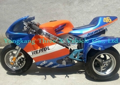 49cc three wheels pocket bike