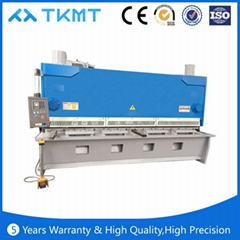 QC11Y Hydraulic Guillotine Beam Shears machine in China of 2016