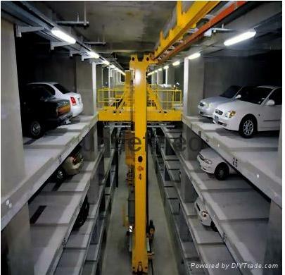 湖北智能化三層昇降橫移機械立體停車庫 4
