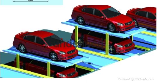 天馬華源垂直昇降類立體停車庫 4