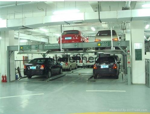 天馬華源垂直昇降類立體停車庫 5