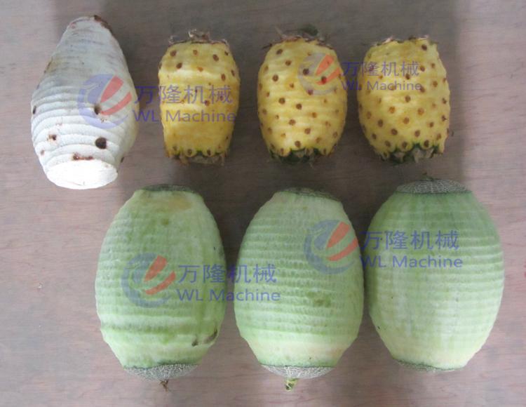 瓜果菠萝芋头冬木瓜削皮机 4