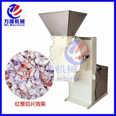 Small onion Shallot Garlic Slicing Machine