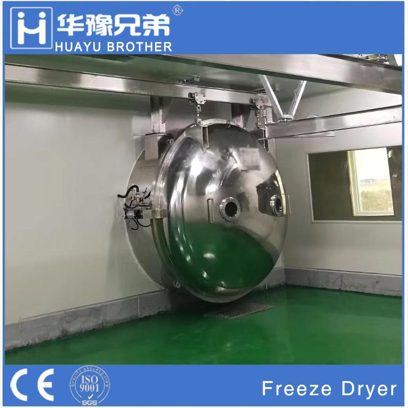 Industrial Food Fruit Vegetable Drying Lyophilizer Vacuum Freeze Dryer Machine 1