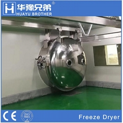 Industrial Food Fruit Vegetable Drying Lyophilizer Vacuum Freeze Dryer Machine