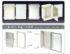 塑料防水配电箱双层门 防水接线盒