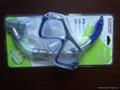 高档吸塑PVC透明成人款泳镜热压吸塑罩 2