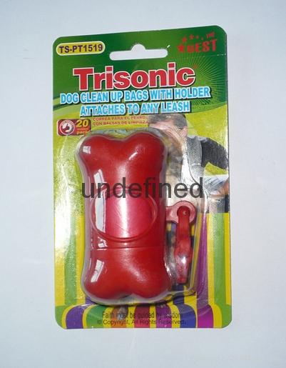 寵物用品對折插卡吸塑包裝 3