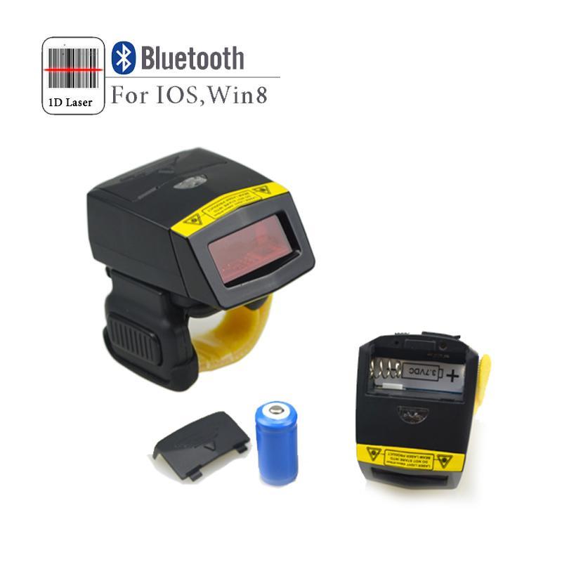 FS01指环扫描器无线蓝牙一维激光条码扫描器 2