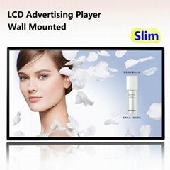New Ultra Slim LCD digital Signage shop retail advertising TV