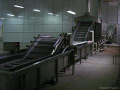 平板式速冻隧道不锈钢304输送网链