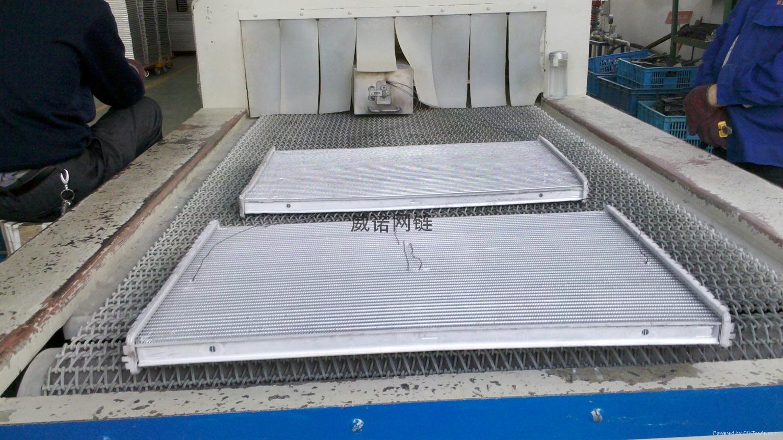 釬焊爐不鏽鋼網帶