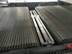 Furniture wooden door UV curing machine high temperature stainless steel chain