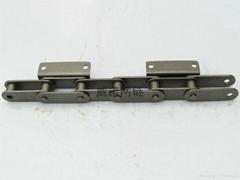 C2062,C2082雙節距彎板輸送不鏽鋼鏈條