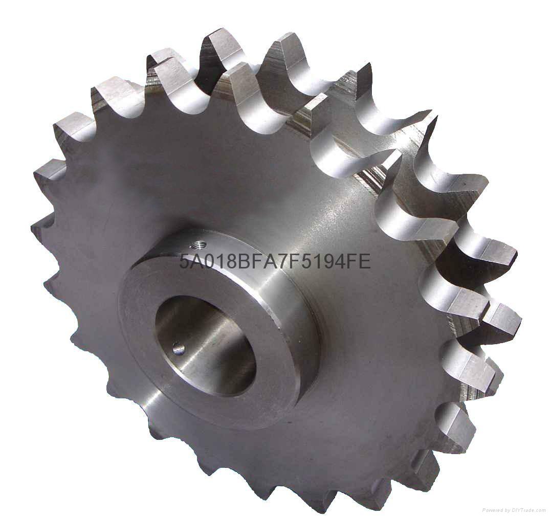 雙排不鏽鋼鏈輪