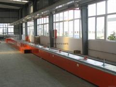 Chain plate conveyer