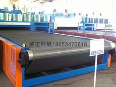 Glass bottle annealing furnace mesh belt