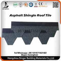Bitumen Asphalt Roofing Shingles Low Price