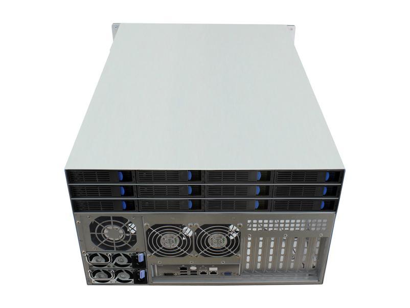 6u 存储服务器机箱/热插拔/机架式 1