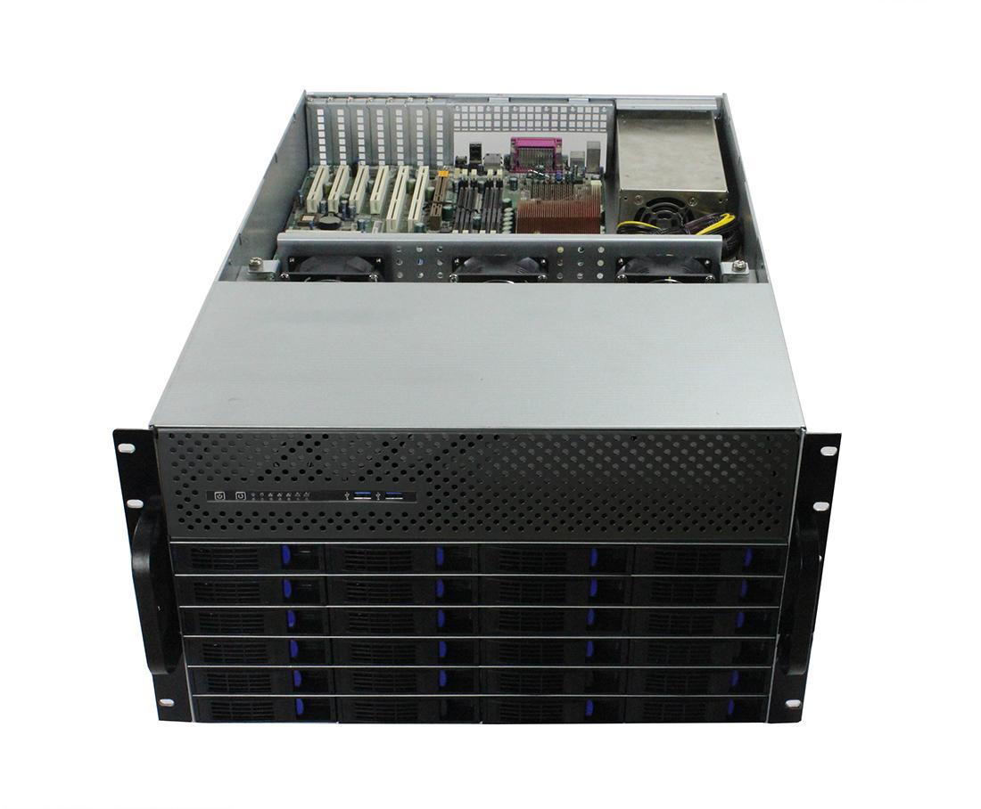 6u 存储服务器机箱/热插拔/机架式 5