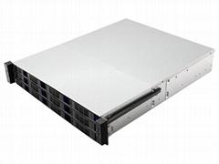 19 寸 机架式2u 12盘位服务器机箱