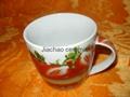 Wholesale customized porcelain mug for promotional 1