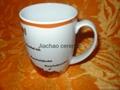 Wholesale customized porcelain mug for promotional 3
