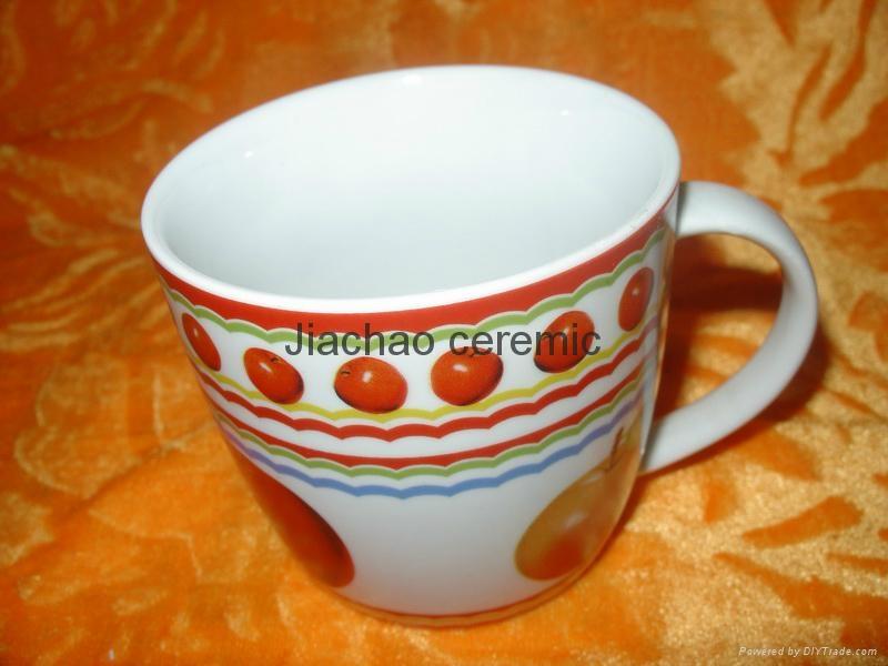 Wholesale customized porcelain mug for promotional 4