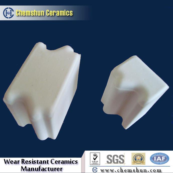 Alumina Ceramic Tile for Pulley Lagging 2