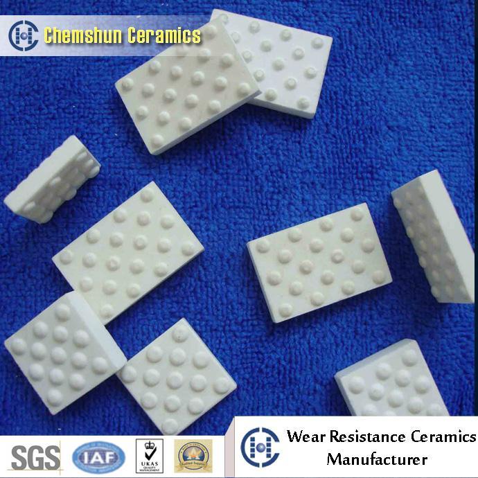 Alumina Ceramic Tile for Pulley Lagging 5