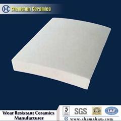 92% 95% Al2O3 Alumina Ceramic Pipe Tile Liner as Steel Pipeline Linings