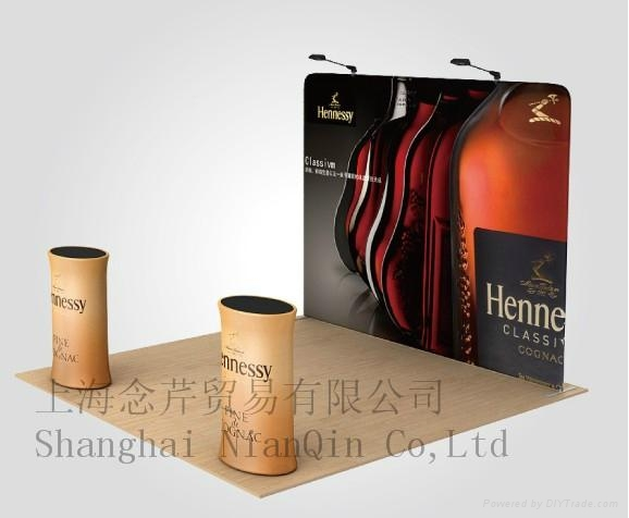 Trade Display Stands : Fabric trade retail display display stands china manufacturer