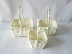carry willow fruit storage basket