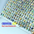 120x45cm Hot Fix Crystal Rhinestone