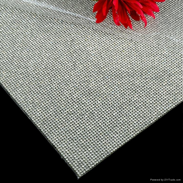 2016 New Style Heat Transfer Crystal Rhinestone Strass Trimming Mesh 3