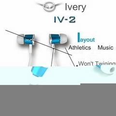 Dongguan Factory Mini Lightweight Stereo Sports Running Earphone Headphones