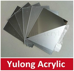 2mm Silver Mirror Acrylic Plastic Sheet 1220x2440mm