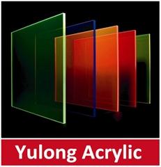 Clear Color Acrylic Plexiglass Plastic Sheet 1220*2440mm