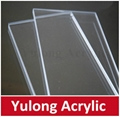 cast transparent acrylic PMMA board panel 1000*2000 5
