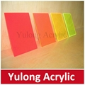 Clear Color Acrylic PMMA Sheet for Wall Decoration 3