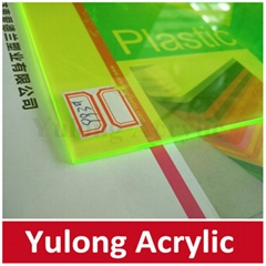 Clear Color Acrylic PMMA Sheet for Wall Decoration