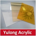 Gold Mirror Acrylic PMMA Sheet for Wedding Decoration 4