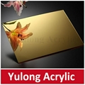 Gold Mirror Acrylic PMMA Sheet for