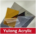 Gold Mirror Acrylic PMMA Sheet for Wedding Decoration 5