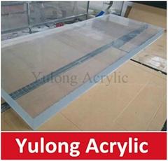 100mm Thick Acrylic Plexiglass Sheet for Swimming Pool