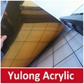 Silver and Gold Mirror Acrylic Sheet for