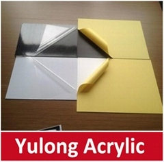 0.8mm 1m 1.5mm Self-Adhesive  PVC Photo