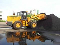 6.932 wheel loader with Earth Auger Hole Digger Ground drill