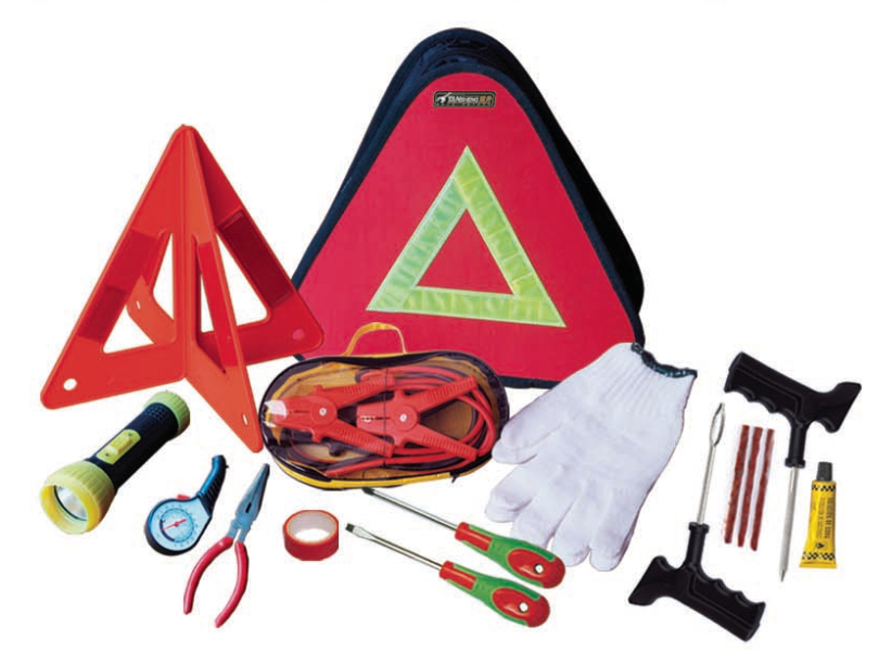 Car emergency kits triangle bag 1