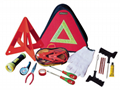 Car emergency kits triangle bag